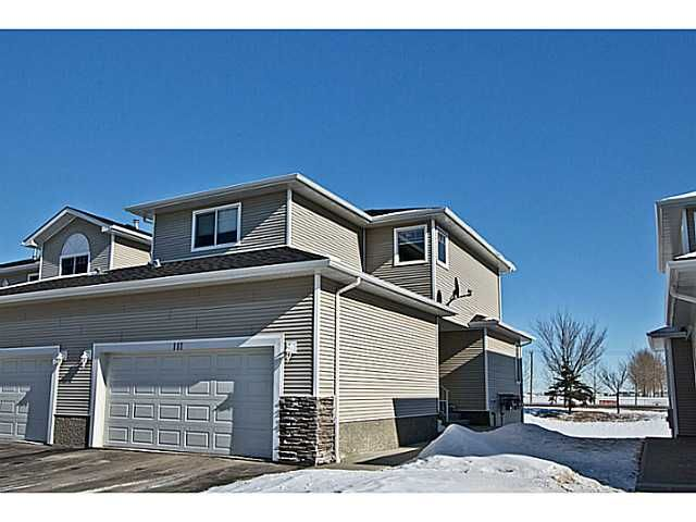 Main Photo: 111 Hillview Terrace: Strathmore Townhouse for sale : MLS®# C3601996