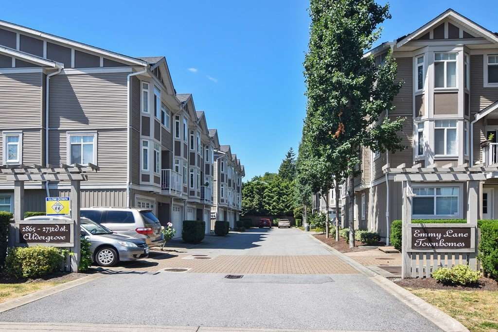 Main Photo: 7 2865 273 Street in Langley: Aldergrove Langley Townhouse for sale : MLS®# R2391389