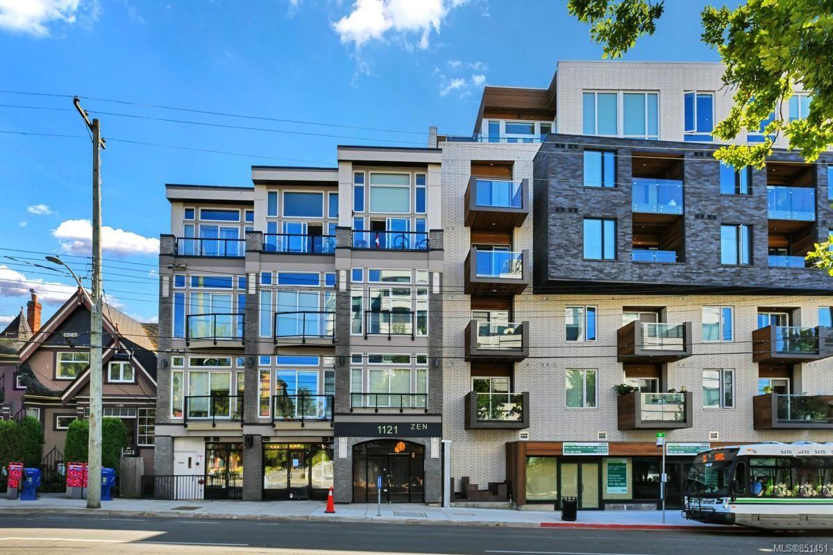 Main Photo: 306 1121 Fort St in : Vi Downtown Condo for sale (Victoria)  : MLS®# 851451