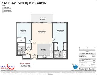 """Photo 23: 512 10838 WHALLEY Boulevard in Surrey: Bolivar Heights Condo for sale in """"The Maverick"""" (North Surrey)  : MLS®# R2583734"""