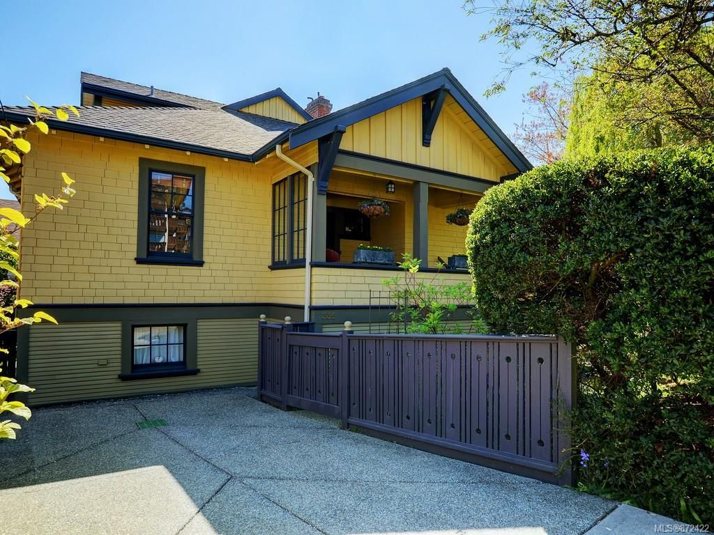 Main Photo: 335 Vancouver St in : Vi Fairfield West House for sale (Victoria)  : MLS®# 872422