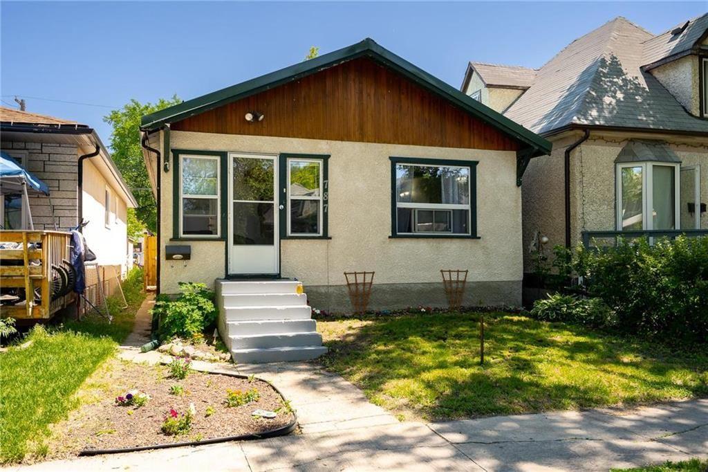 Main Photo: 787 Ashburn Street in Winnipeg: West End Residential for sale (5C)  : MLS®# 202114979