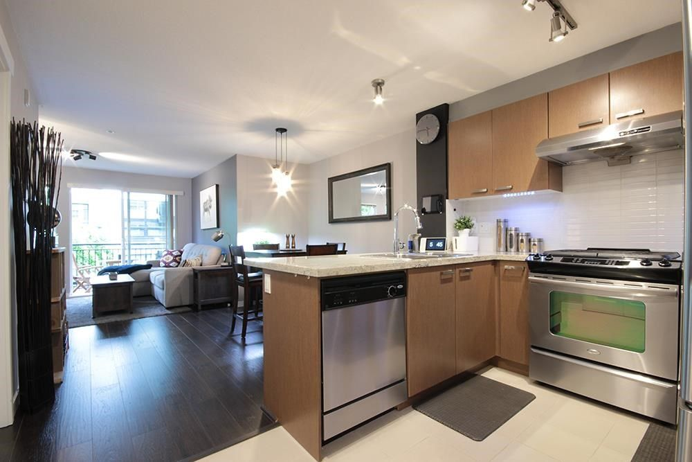 Main Photo: 308 9399 TOMICKI Avenue in Richmond: West Cambie Condo for sale : MLS®# R2579026