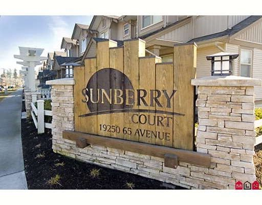 """Main Photo: 91 19250 65TH Avenue in Surrey: Clayton Townhouse for sale in """"Sunberry Court"""" (Cloverdale)  : MLS®# F2904247"""