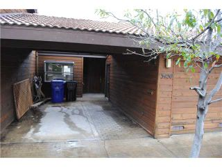 Photo 1: SAN DIEGO Townhouse for sale : 2 bedrooms : 3450 Columbia