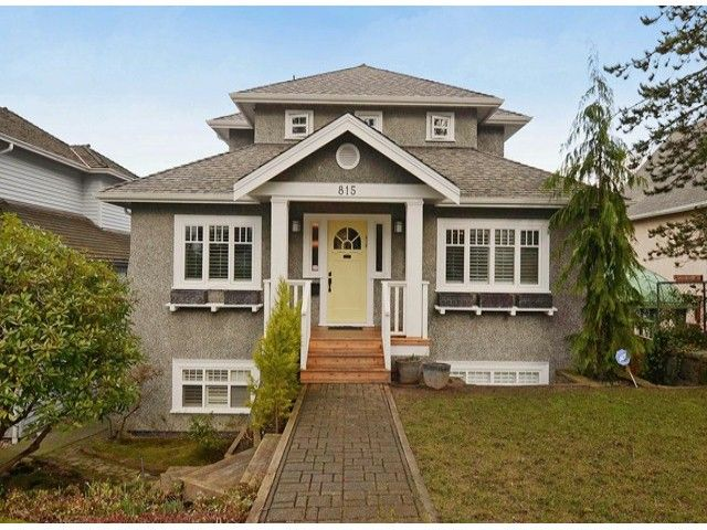 "Main Photo: 815 W 23RD Avenue in Vancouver: Cambie House for sale in ""DOUGLAS PARK"" (Vancouver West)  : MLS®# V1061241"