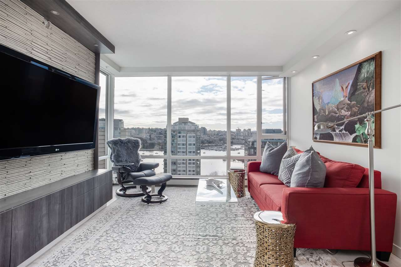 "Main Photo: 2301 1201 MARINASIDE Crescent in Vancouver: Yaletown Condo for sale in ""The Peninsula"" (Vancouver West)  : MLS®# R2556097"