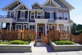 Photo 1: 83 7169 208A Street in Langley: Willoughby Heights Townhouse for sale : MLS®# R2604551