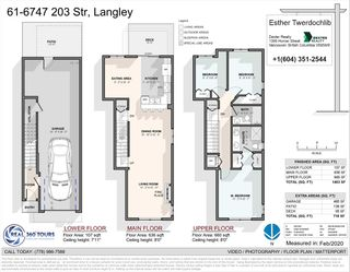 """Photo 38: 61 6747 203 Street in Langley: Willoughby Heights Townhouse for sale in """"SAGEBROOK"""" : MLS®# R2454928"""