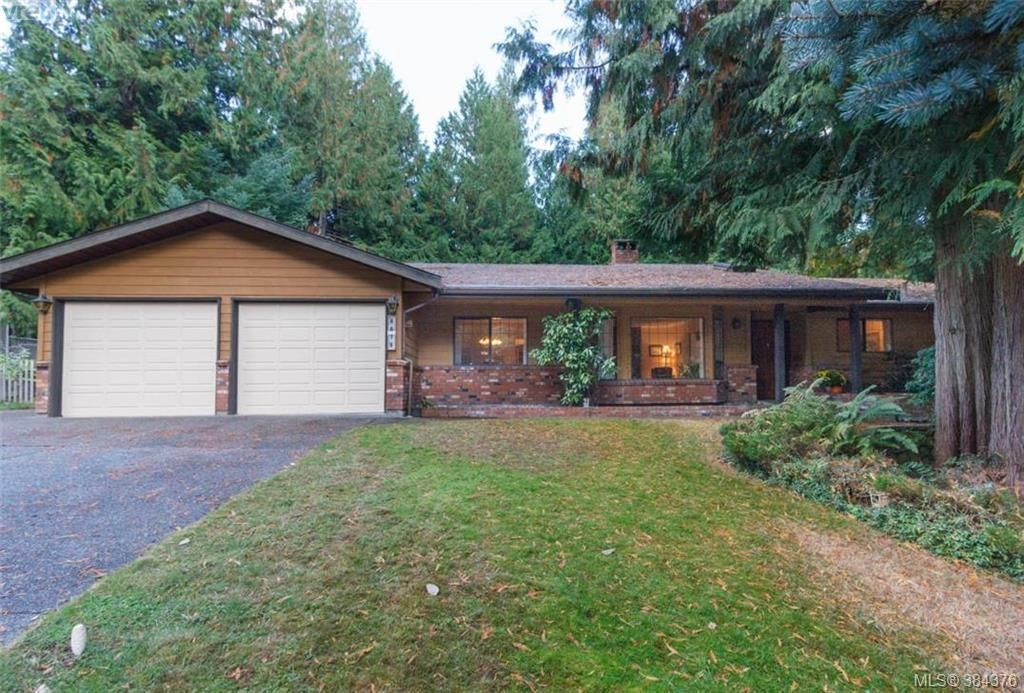 Main Photo: 8679 Forest Park Dr in NORTH SAANICH: NS Dean Park House for sale (North Saanich)  : MLS®# 772597