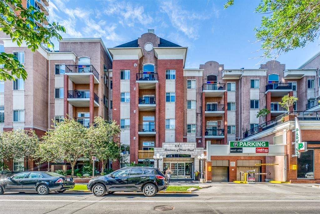 Main Photo: 400 881 15 Avenue SW in Calgary: Beltline Apartment for sale : MLS®# A1125479