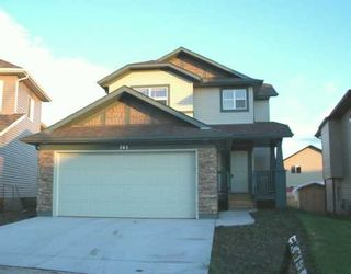 Photo 1: : Airdrie Residential Detached Single Family for sale : MLS®# C3220490