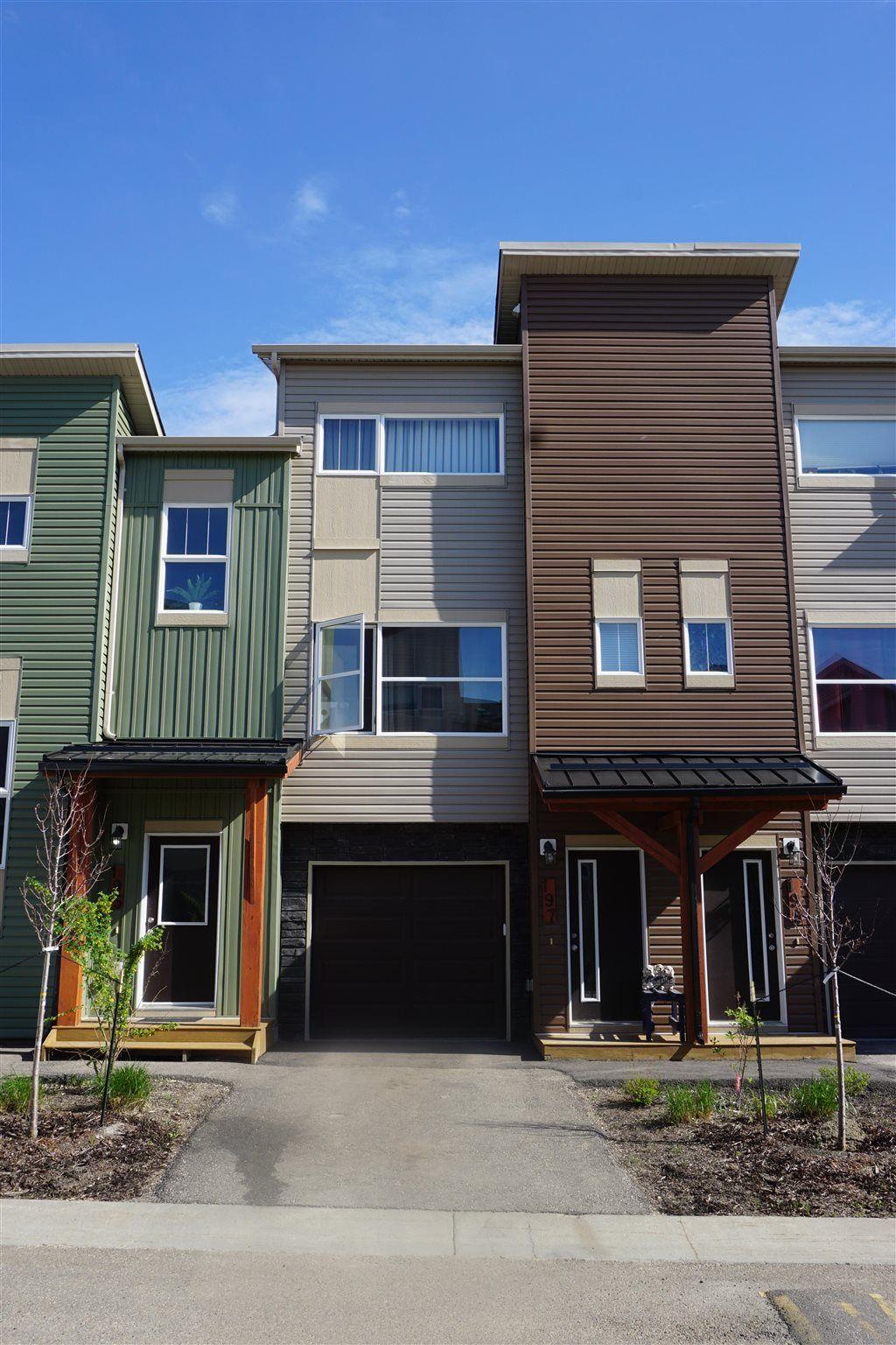 Main Photo: 197 401 SOUTHFORK Drive: Leduc Townhouse for sale : MLS®# E4249158