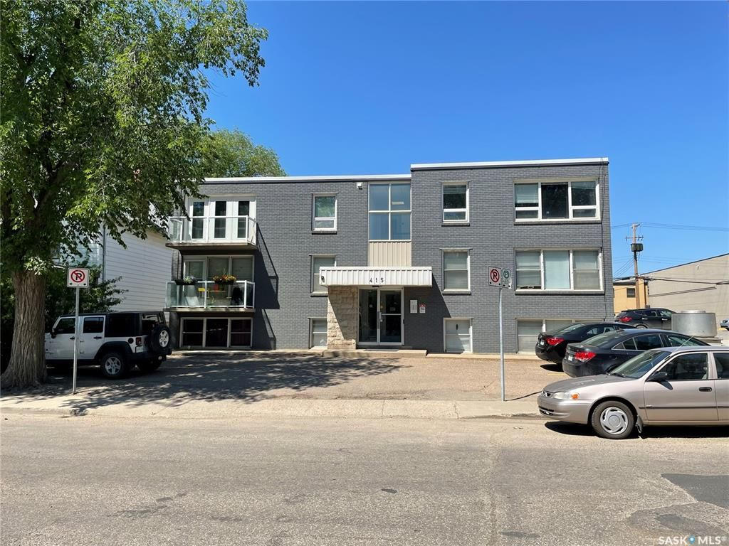 Main Photo: 203 415 3rd Avenue North in Saskatoon: City Park Residential for sale : MLS®# SK865397
