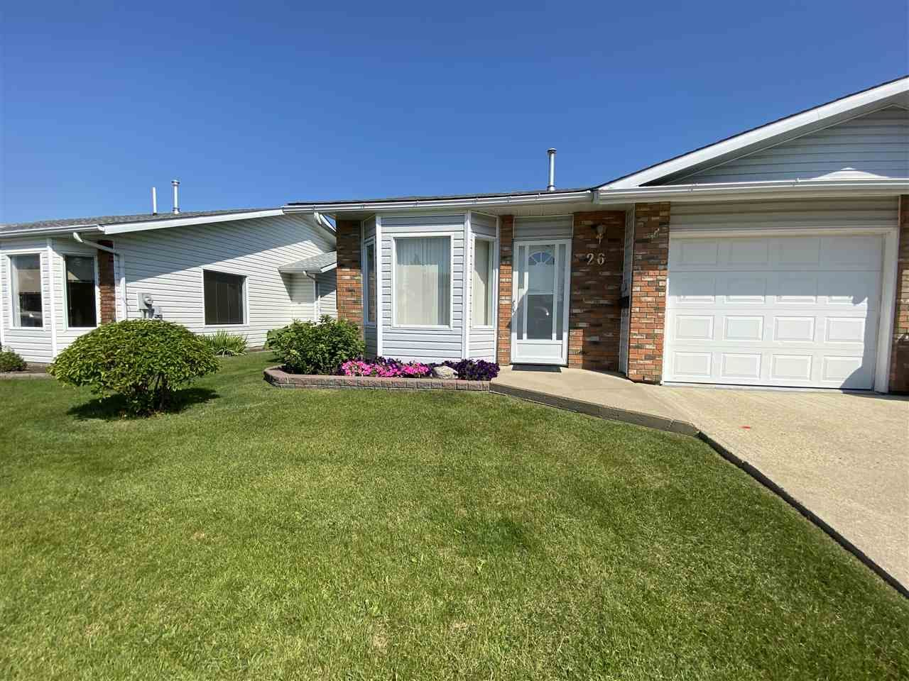 Main Photo: 26 11015 105 Avenue: Westlock House Half Duplex for sale : MLS®# E4208593