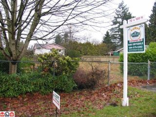 Photo 1: 14565 108TH Avenue in Surrey: Bolivar Heights Land for sale (North Surrey)  : MLS®# F1200041