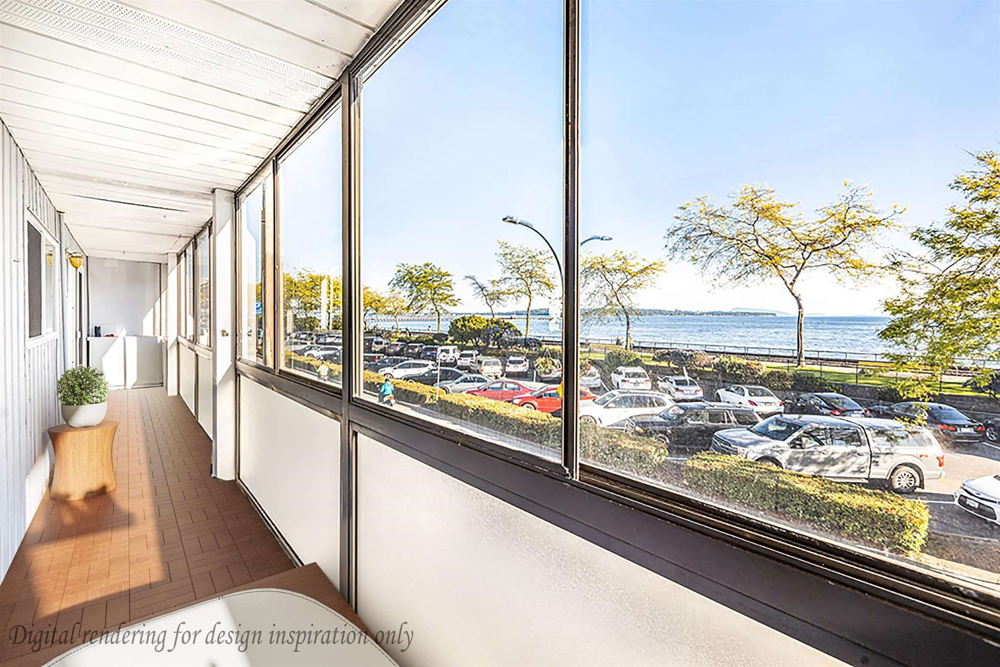 """Photo 16: Photos: 111 14881 MARINE Drive: White Rock Condo for sale in """"DRIFTWOOD ARMS"""" (South Surrey White Rock)  : MLS®# R2595780"""