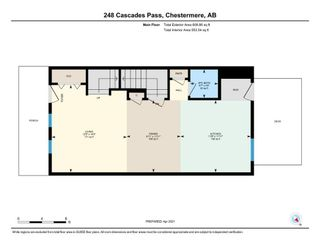 Photo 20: 248 Cascades Pass: Chestermere Row/Townhouse for sale : MLS®# A1096095