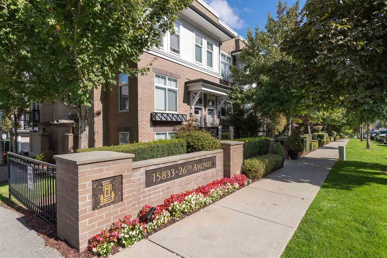 """Main Photo: 71 15833 26 Avenue in Surrey: Grandview Surrey Townhouse for sale in """"Brownstones"""" (South Surrey White Rock)  : MLS®# R2372970"""