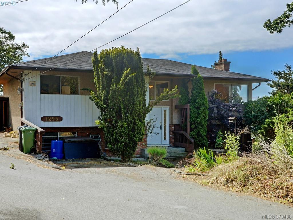 Main Photo: 1295 Montrose Ave in VICTORIA: Vi Hillside House for sale (Victoria)  : MLS®# 762239