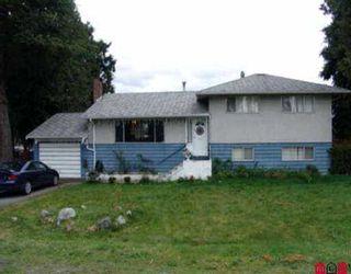 Photo 1: 12483 PINEWOOD CR in Surrey: Cedar Hills House for sale (North Surrey)  : MLS®# F2608293