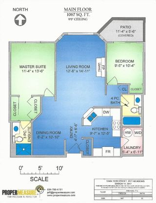 "Photo 14: 402 12464 191B Street in Pitt Meadows: Mid Meadows Condo for sale in ""LASEUR MANOR"" : MLS®# R2305413"
