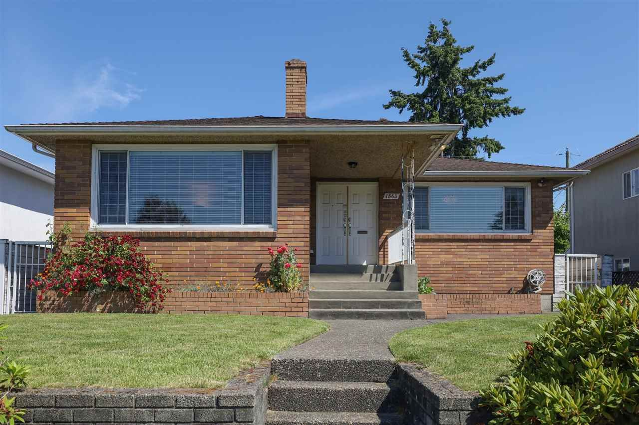 Main Photo: 1563 E 59TH Avenue in Vancouver: Fraserview VE House for sale (Vancouver East)  : MLS®# R2589048