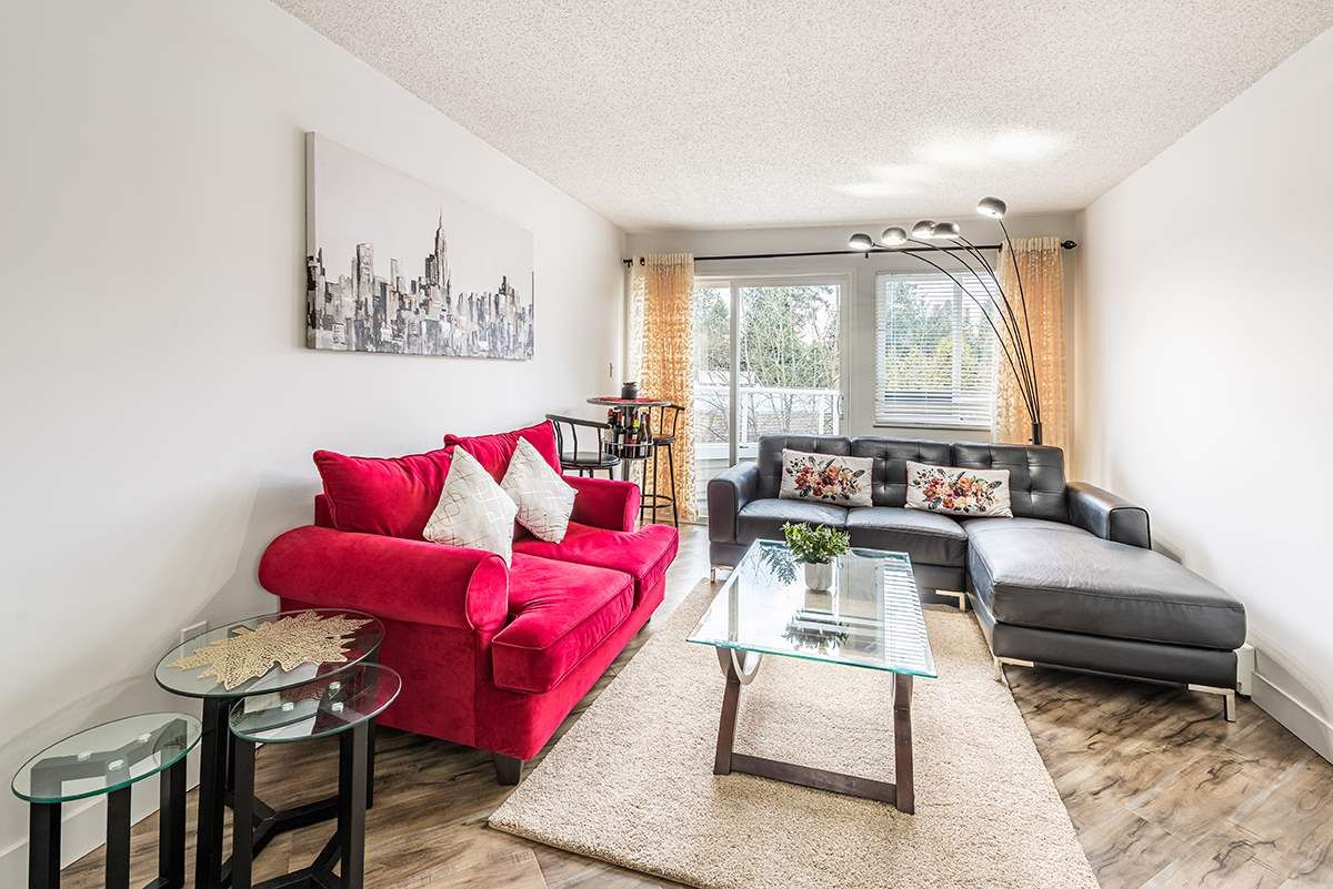 """Photo 2: Photos: 307 1155 ROSS Road in North Vancouver: Lynn Valley Condo for sale in """"THE WAVERLEY"""" : MLS®# R2533563"""