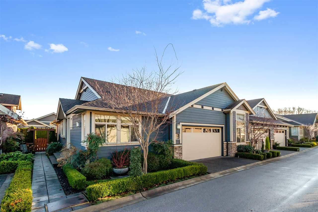 "Main Photo: 46 350 174 Street in Surrey: Pacific Douglas Townhouse for sale in ""THE GREENS"" (South Surrey White Rock)  : MLS®# R2519414"