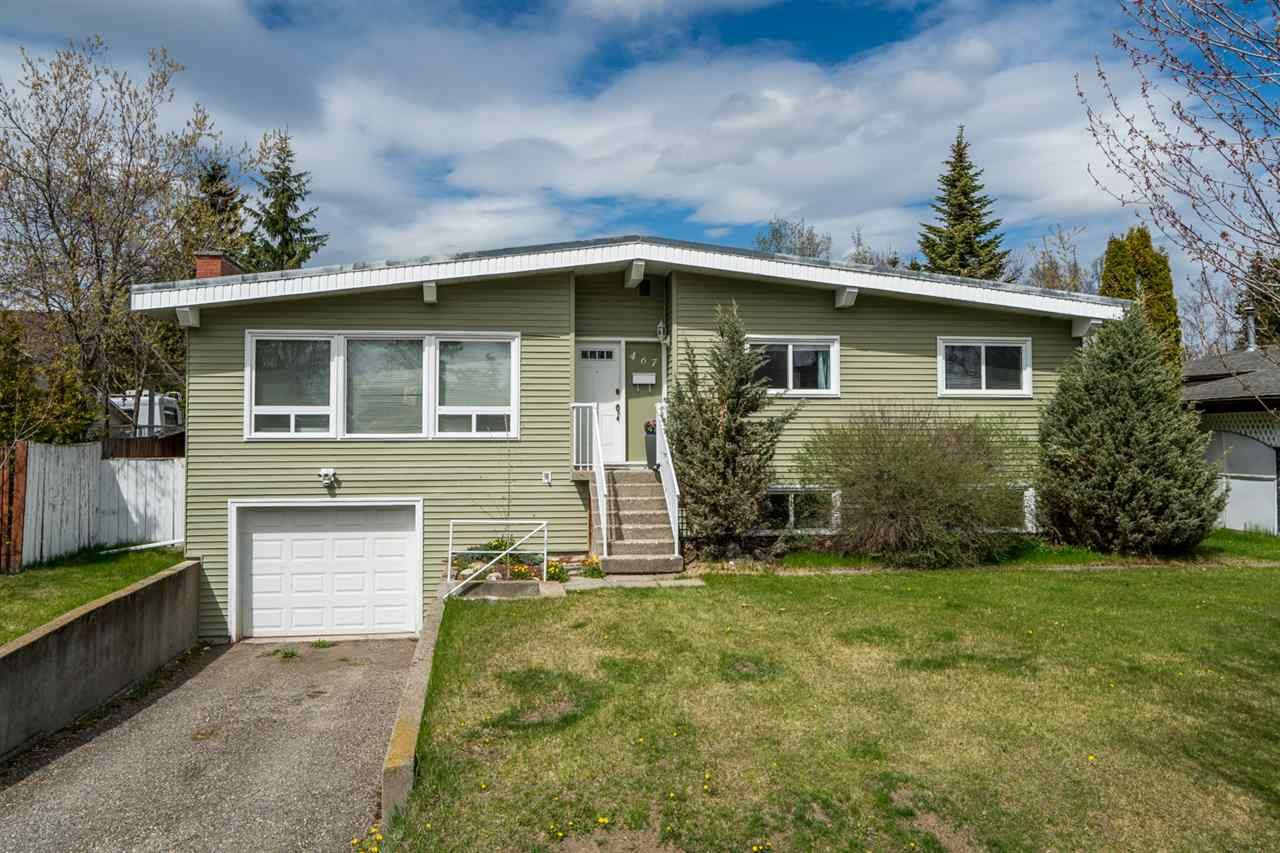 Main Photo: 467 WILLIAMS Crescent in Prince George: Fraserview House for sale (PG City West (Zone 71))  : MLS®# R2367425