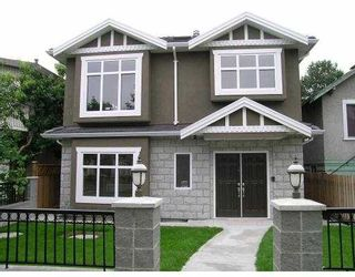 Photo 1: 3540 WILLIAM ST in Vancouver: Renfrew VE House for sale (Vancouver East)  : MLS®# V602510
