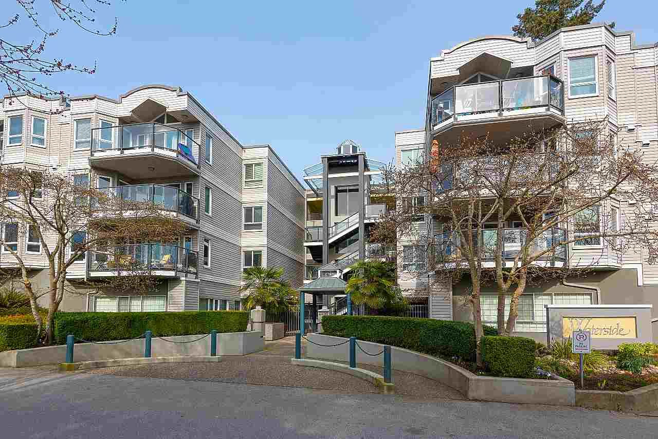 "Main Photo: 208 2250 SE MARINE Drive in Vancouver: South Marine Condo for sale in ""WATERSIDE"" (Vancouver East)  : MLS®# R2552957"