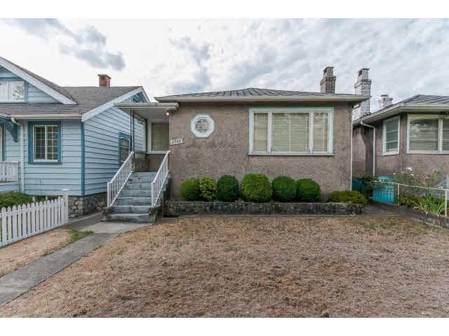 Main Photo: 2765 NANAIMO STREET in Vancouver East: Home for sale : MLS®# V1141570