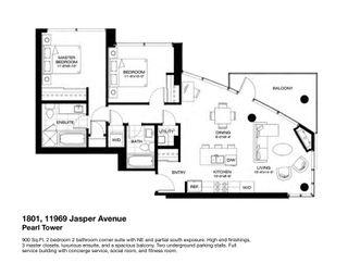 Photo 48: 1801 11969 Jasper Avenue in Edmonton: Zone 12 Condo for sale : MLS®# E4249065