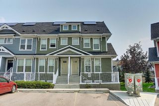 Photo 1: 216 Cranford Mews SE in Calgary: Cranston Row/Townhouse for sale : MLS®# A1134650