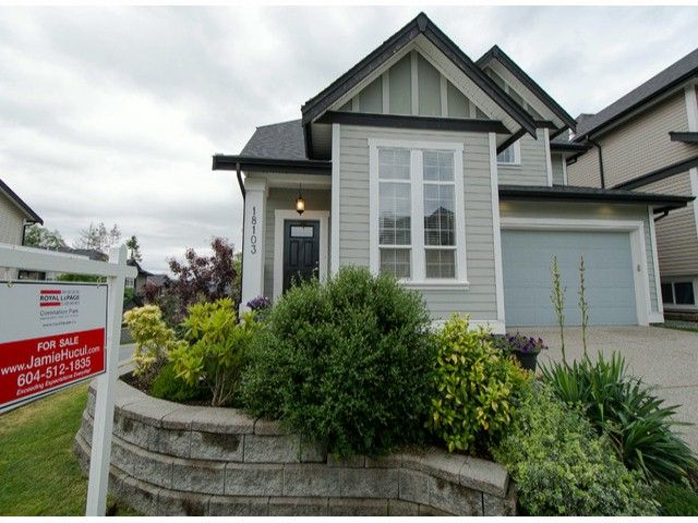 "Main Photo: 18103 70A Avenue in Surrey: Cloverdale BC House for sale in ""Provinceton"" (Cloverdale)  : MLS®# F1315735"