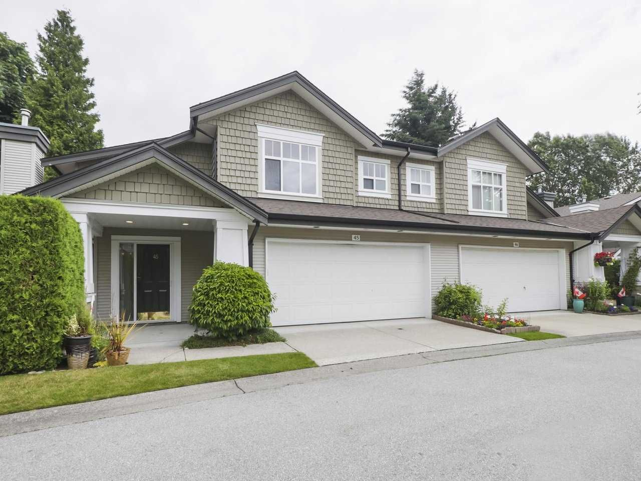 """Main Photo: 45 14877 33 Avenue in Surrey: King George Corridor Townhouse for sale in """"SANDHURST"""" (South Surrey White Rock)  : MLS®# R2513758"""