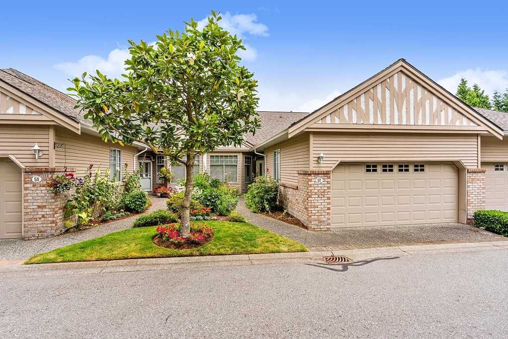 """Main Photo: 57 2533 152 Street in Surrey: Sunnyside Park Surrey Townhouse for sale in """"Bishops Green"""" (South Surrey White Rock)  : MLS®# R2480519"""