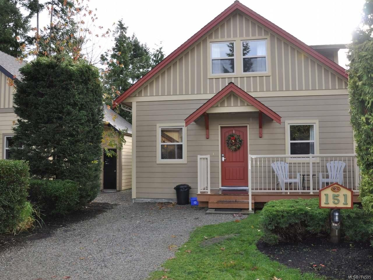 Main Photo: 151 1080 RESORT DRIVE in PARKSVILLE: PQ Parksville Row/Townhouse for sale (Parksville/Qualicum)  : MLS®# 774595