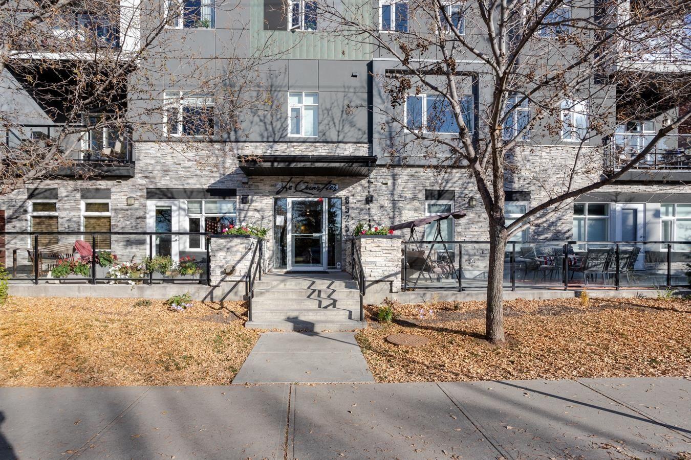 Main Photo: 402 8525 91 Street in Edmonton: Zone 18 Condo for sale : MLS®# E4266193
