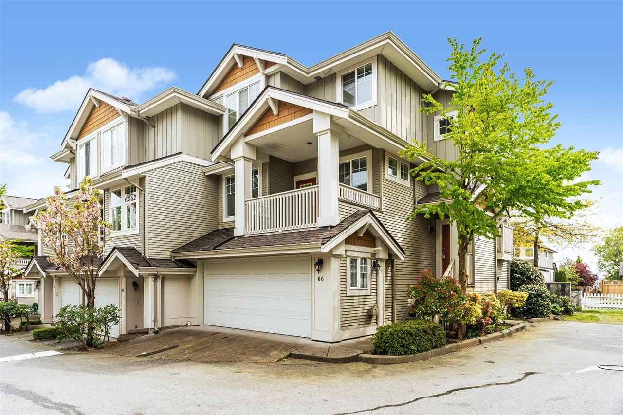 """Main Photo: 66 14877 58 Avenue in Surrey: Sullivan Station Townhouse for sale in """"Redmill"""" : MLS®# R2574626"""