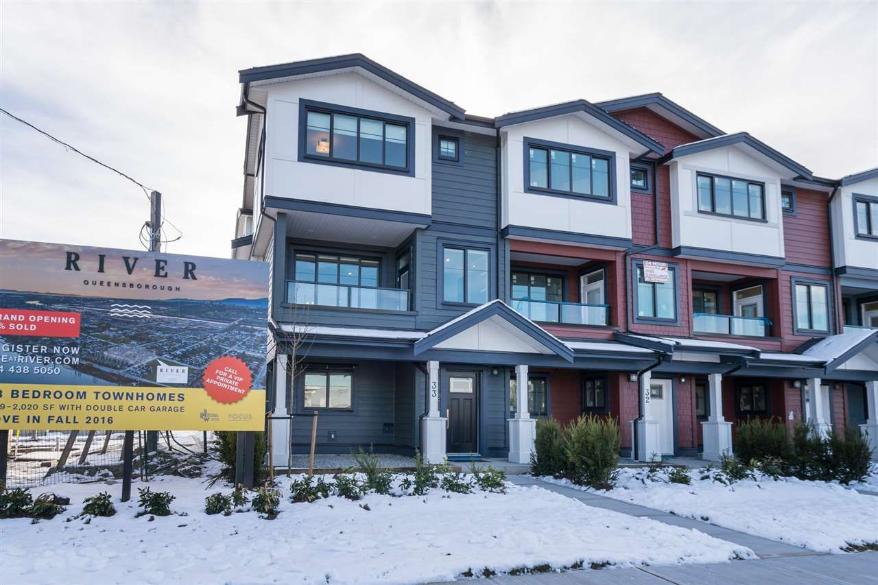 Main Photo: 56 188 WOOD STREET in New Westminster: Queensborough Townhouse for sale : MLS®# R2130864