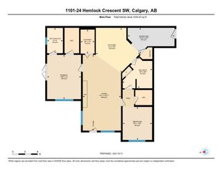 Photo 2: 1101 24 Hemlock Crescent SW in Calgary: Spruce Cliff Apartment for sale : MLS®# A1154369