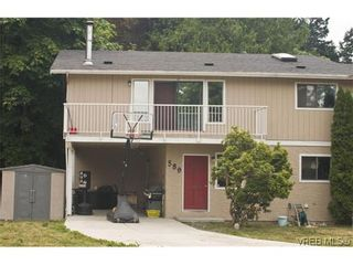 Photo 1: 589 Hansen Ave in VICTORIA: La Thetis Heights Half Duplex for sale (Langford)  : MLS®# 578189