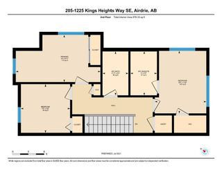 Photo 32: 205 1225 Kings Heights Way SE: Airdrie Row/Townhouse for sale : MLS®# A1122375