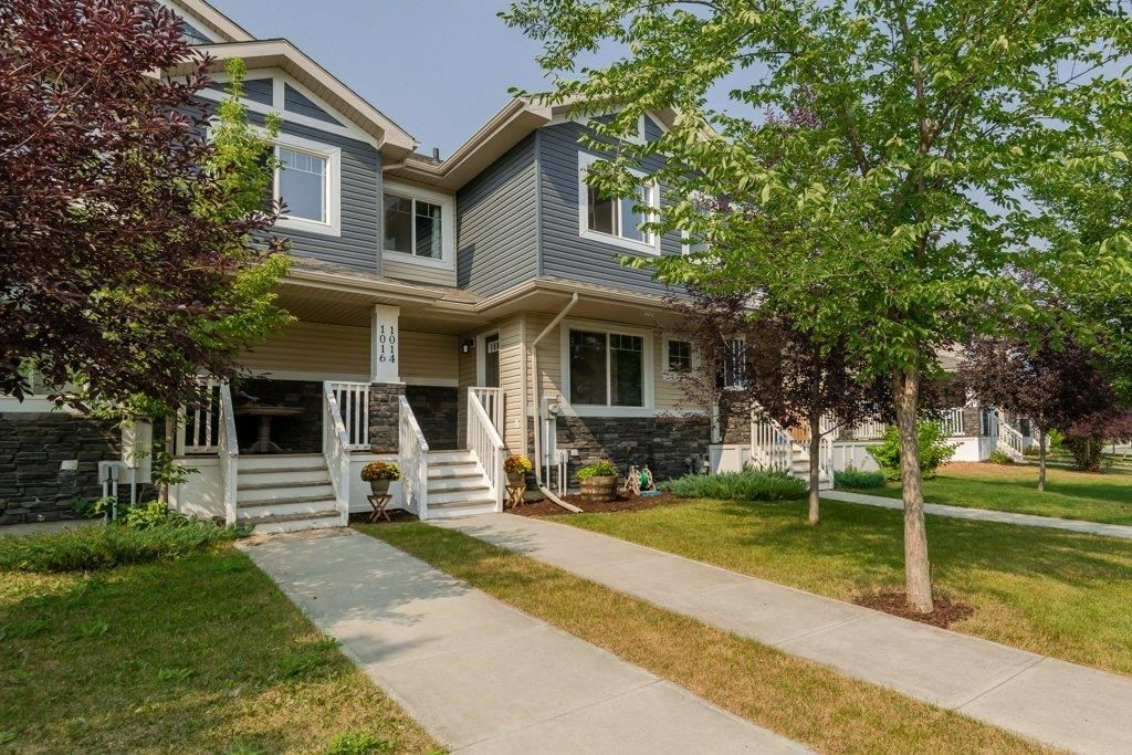 Main Photo: 1014 175 Street in Edmonton: Zone 56 Attached Home for sale : MLS®# E4257234