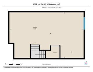Photo 45: 1309 162 Street in Edmonton: Zone 56 House Half Duplex for sale : MLS®# E4248311