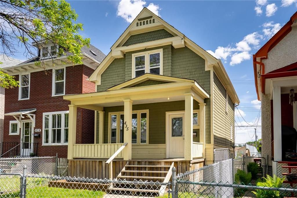 Main Photo: 435 Banning Street in Winnipeg: West End Residential for sale (5C)  : MLS®# 202113622