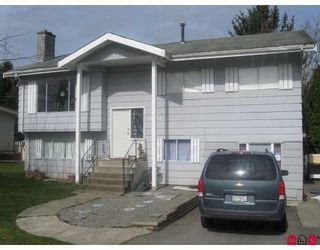 Photo 1: 34661 MARSHALL Road in Abbotsford: Central Abbotsford House for sale : MLS®# F2906338