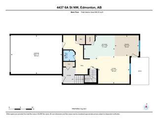 Photo 31: 4437 6A Street in Edmonton: Zone 30 House Half Duplex for sale : MLS®# E4257526
